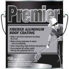 Premier 1 Gal. Fibered Aluminum Roof Coating Image 1