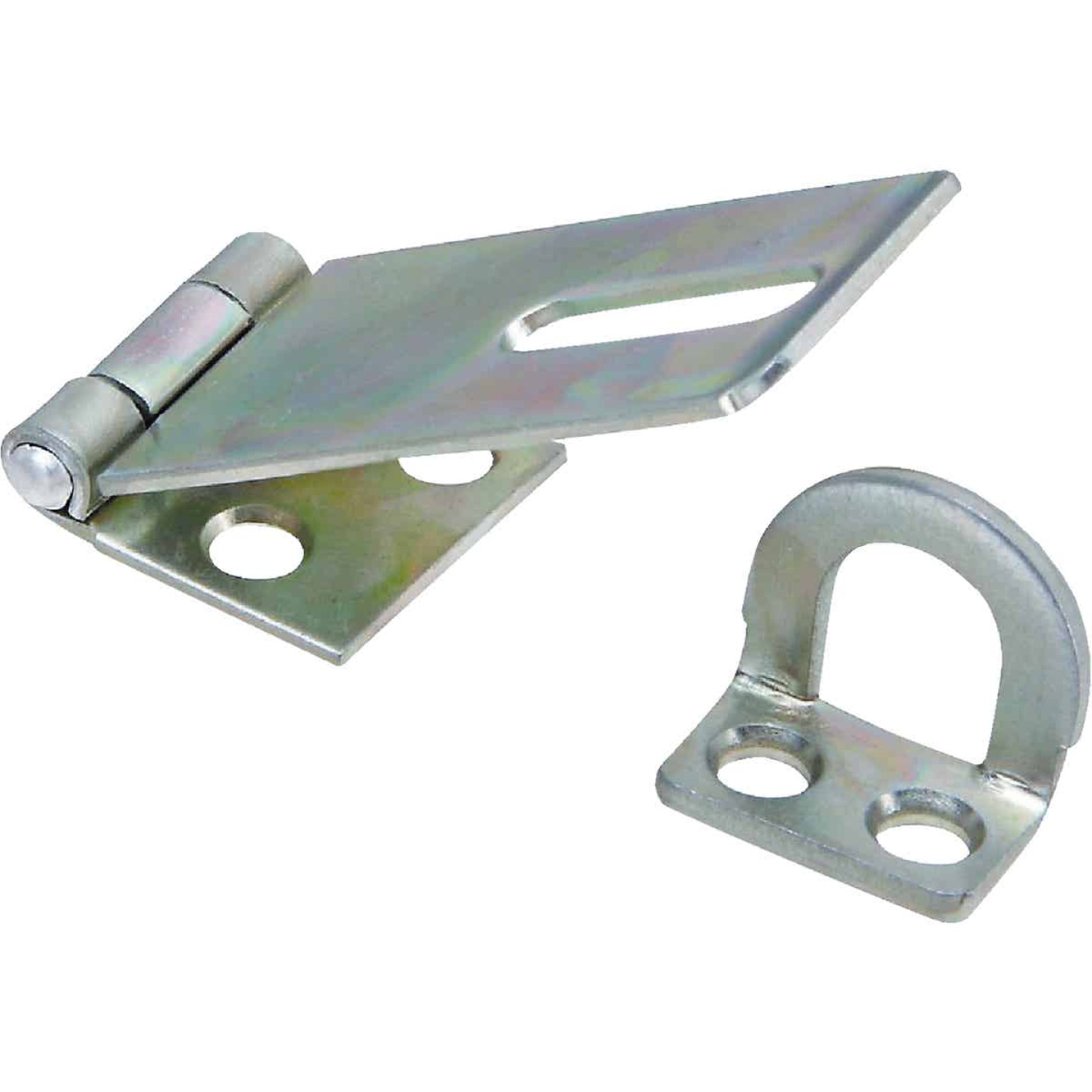 National 1-3/4 In. Zinc Non-Swivel Safety Hasp Image 1