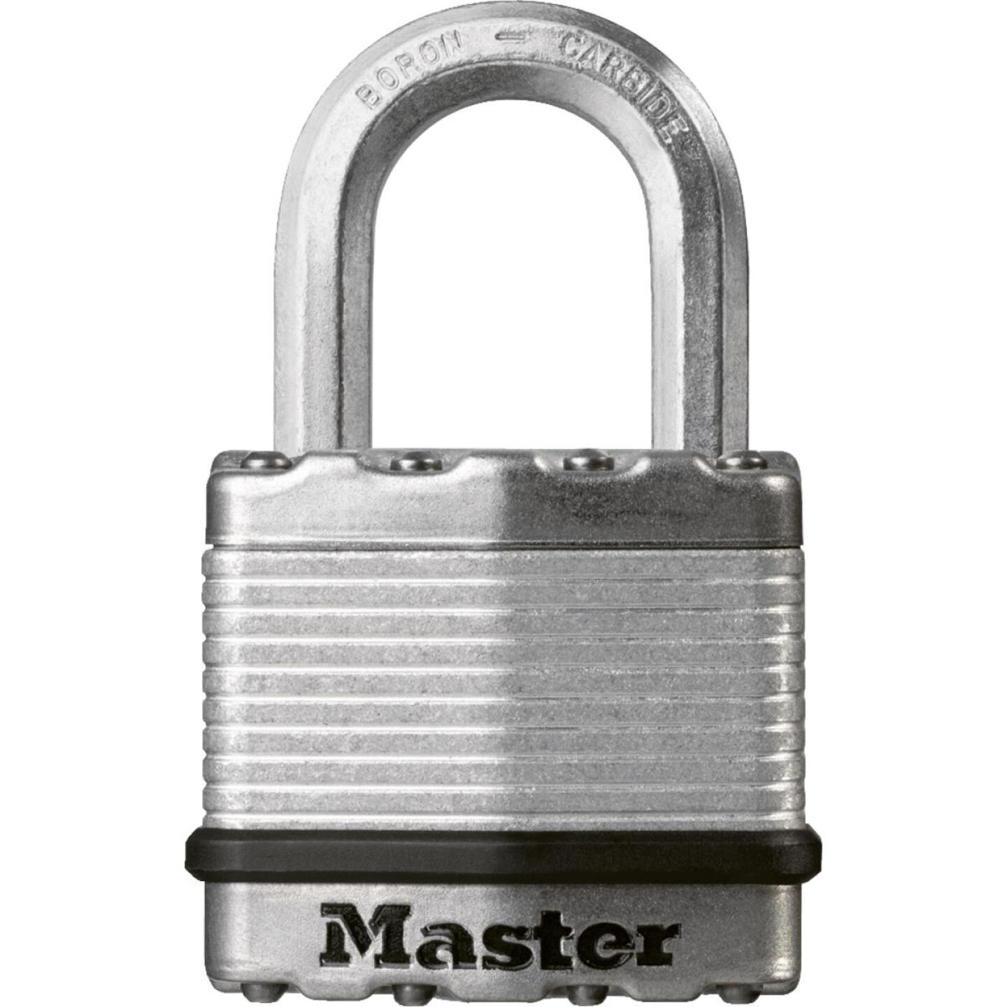 Master Lock Magnum 1-3/4 In. W. Dual-Armor Keyed Different Padlock with 1 In. L. Shackle Image 1