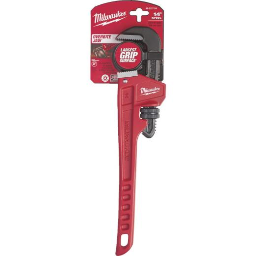 Milwaukee 14 In. Steel Pipe Wrench