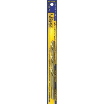Eazypower 3/8 In. High Speed Steel 135 deg Left Hand Drill Bit