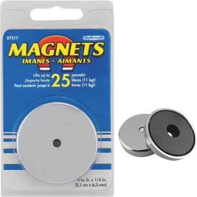 Master Magnetics 2 in. 25 Lb. Magnetic Base