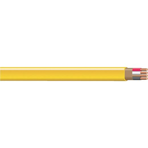 Romex 50 Ft. 12-3 Solid Yellow NMW/G Wire