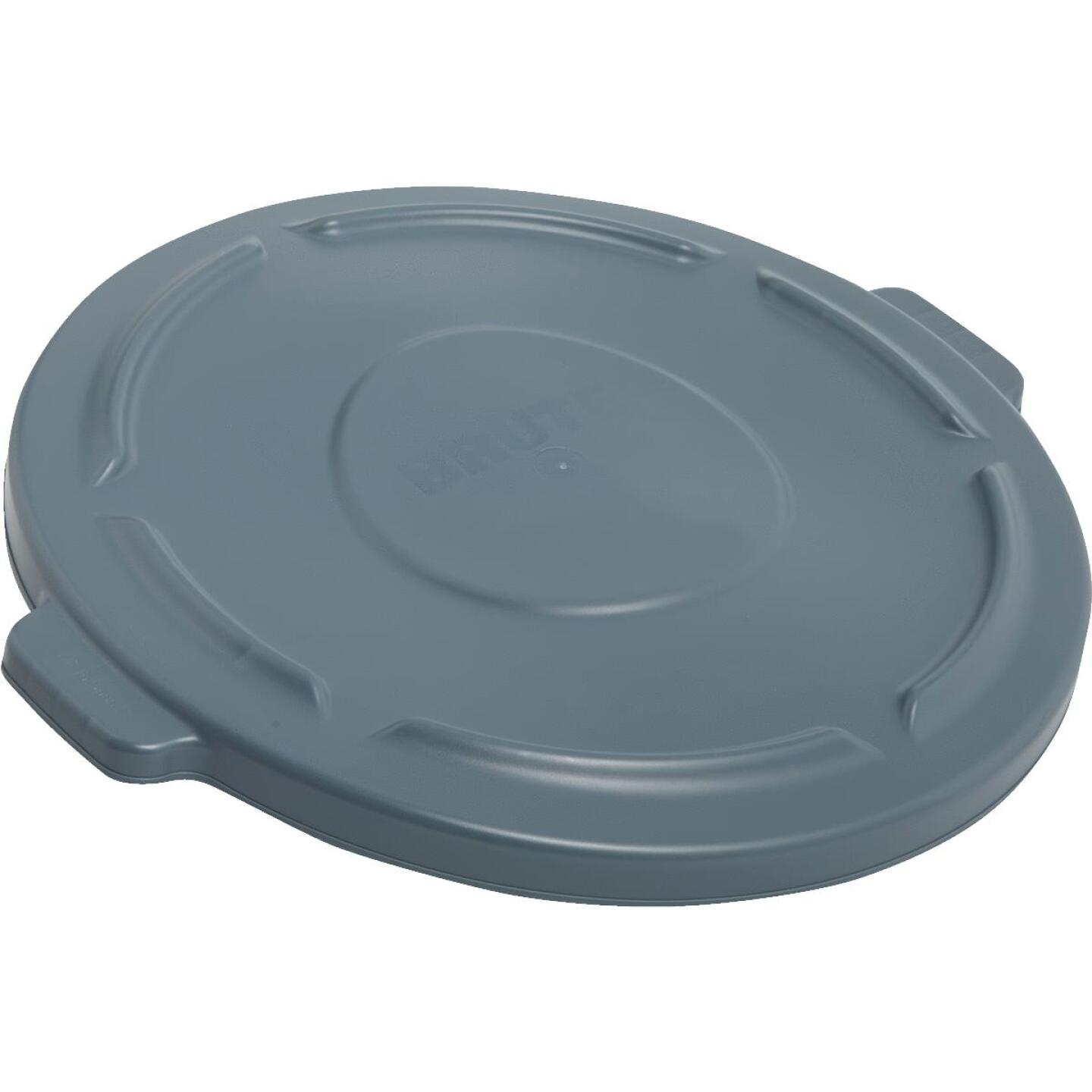 Rubbermaid Commercial Brute Gray Trash Can Lid for 44 Gal. Trash Can Image 1