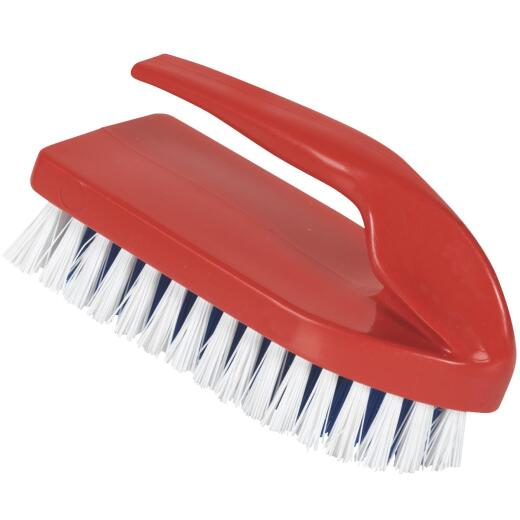 Decker Synthetic Bristles 1 In. Trim Size Grooming Brush with Handle