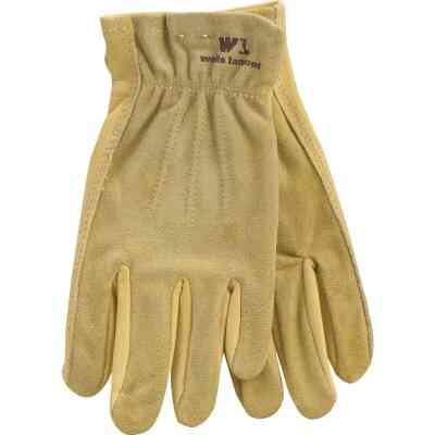 Wells Lamont Women's Small Grain Cowhide Leather Work Glove