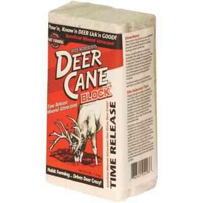 Deer Cane 4 Lb. Time-Release Block Deer Mineral Attractant