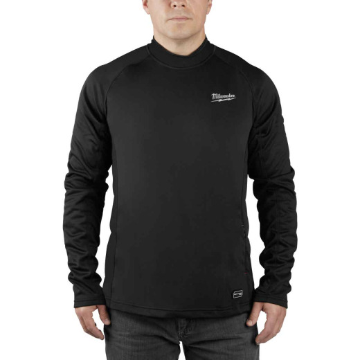 Milwaukee Workskin XL Black Heated Midweight Base Layer Shirt