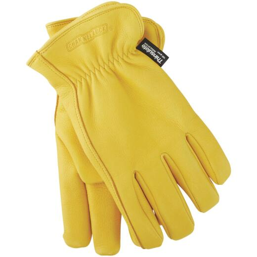 Channellock Men's Medium Deerskin Winter Work Glove