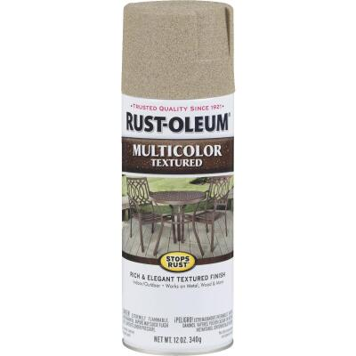 Rust-Oleum Stops Rust MultiColor 12 Oz. Textured Spray Paint, Desert Bisque