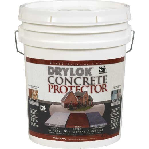Drylok Clear Concrete Sealer Protector, 5 Gal.